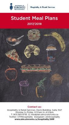 Student Meal Plan Brochure