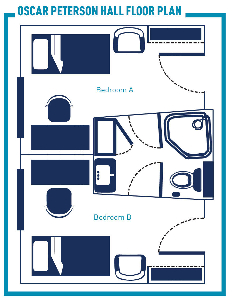 Bedroom Layout With Twin Bed