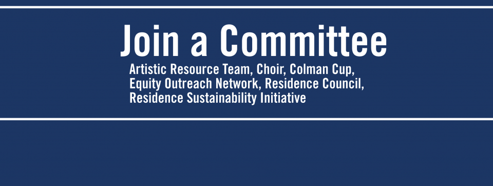 get involved in residence