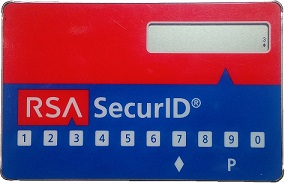 RSA SecurID Card
