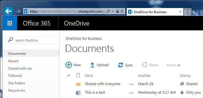 OneDriveView