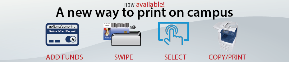 Now available! A new way to print and add funds online.