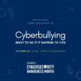 Cyberbullying graphic