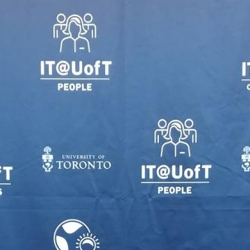 Photo of IT at U of T People banner