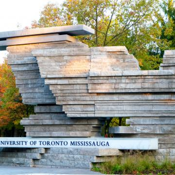 Photo of UTM campus entrance