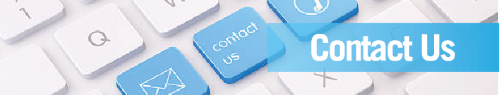 Contact Us | photo of keyboard