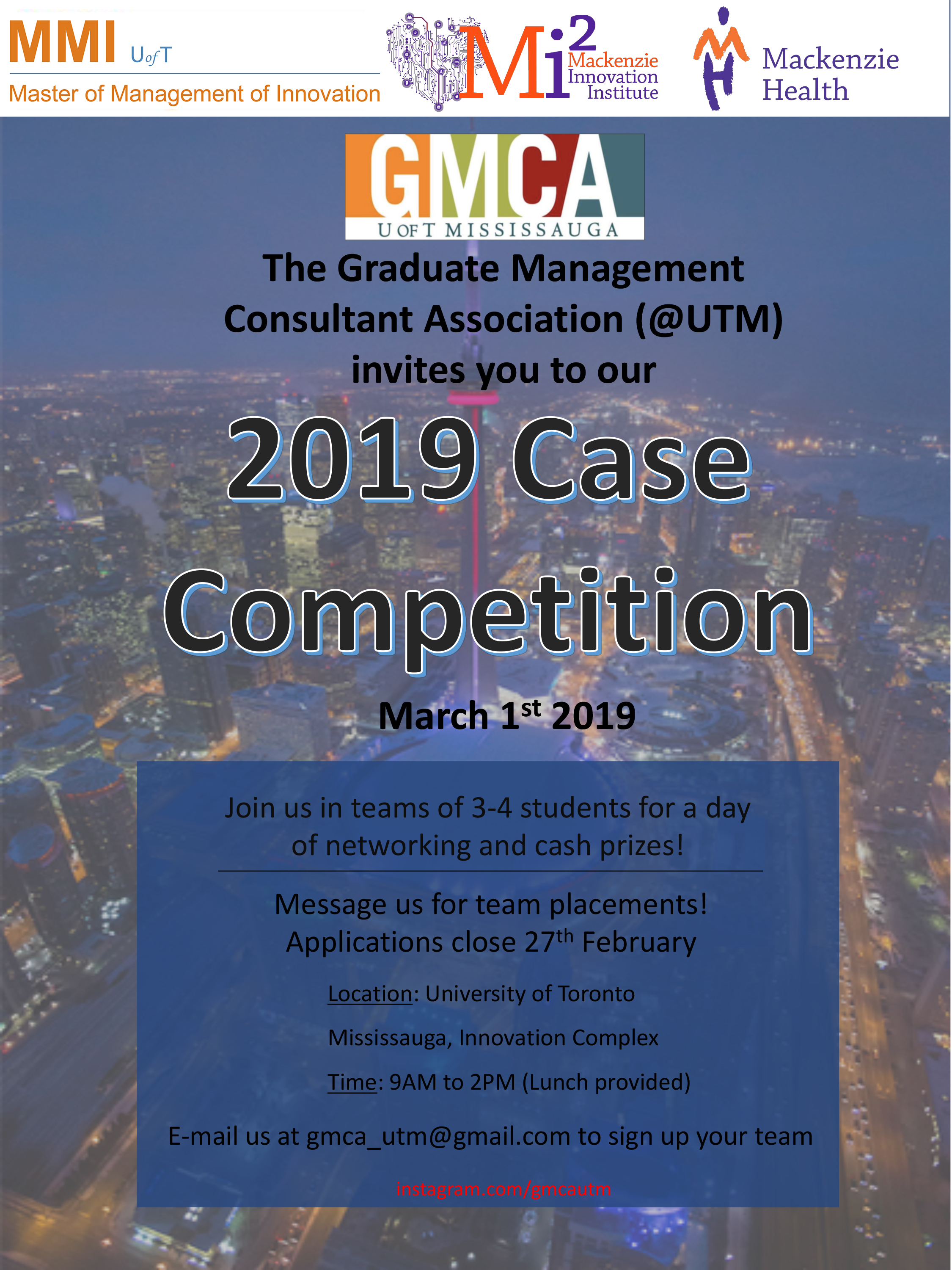 GMCA Case Competition