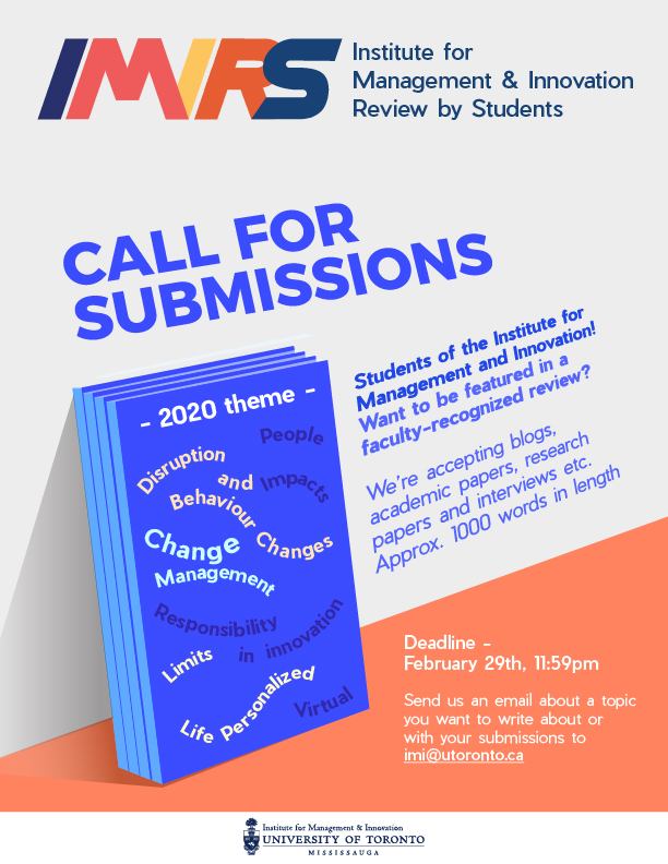 IMIRS Call for submissions