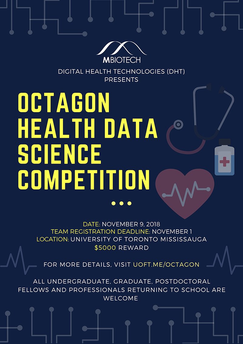Octagon Health Data Science Competition poster