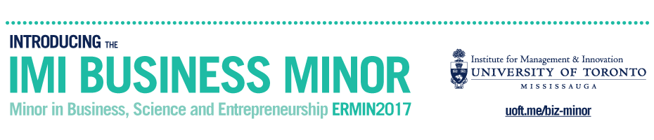 IMI Business Minor | uoft.me/biz-minor