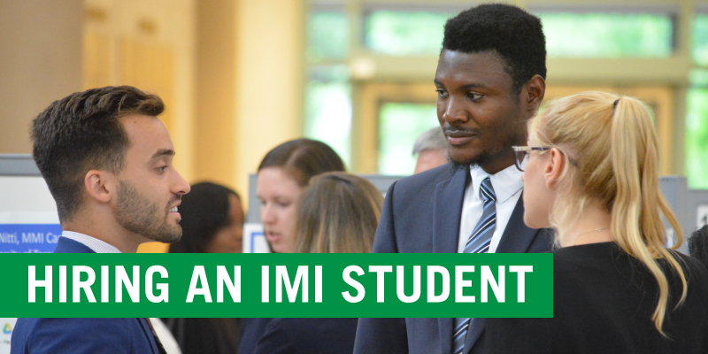 HIRING AN IMI STUDENT | students networking