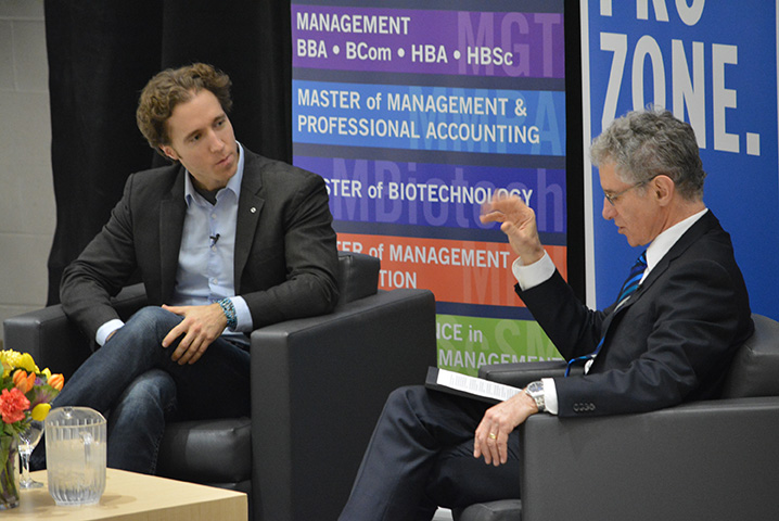 Countdown to Success - Craig Kielburger chats with Hugh Gunz, IMI Director