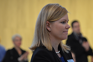 Donna Heslin, Assistant Director, External Relations (IMI)