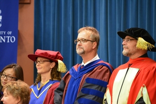 Faculty and Staff at Spring Convocation 2015