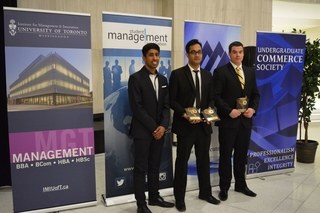 IMI Finance Competition winners