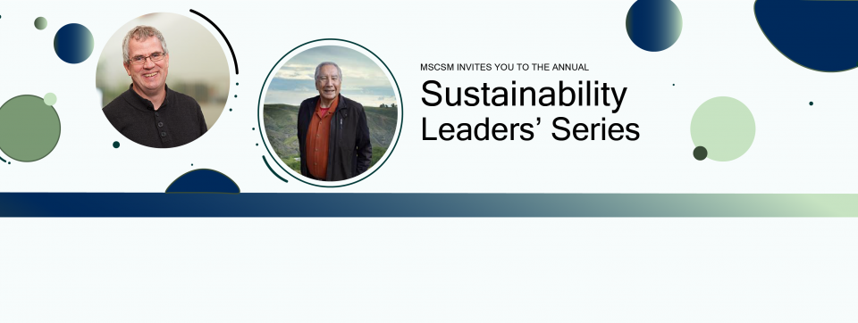MScSM invites you to the annual Sustainability Leaders' Series