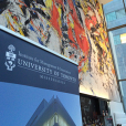 Photo of the IMI banner at ViaVai