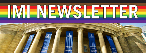 IMI Newsletter | Pride Flag | Convocation Hall