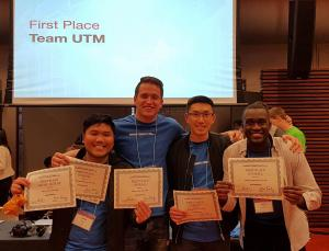IMIC team at Rotman Commerce Trading Competition