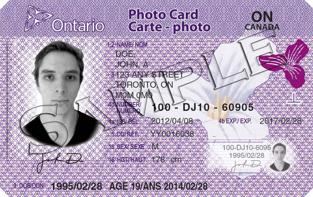 Ontario Photo Card International Education Centre