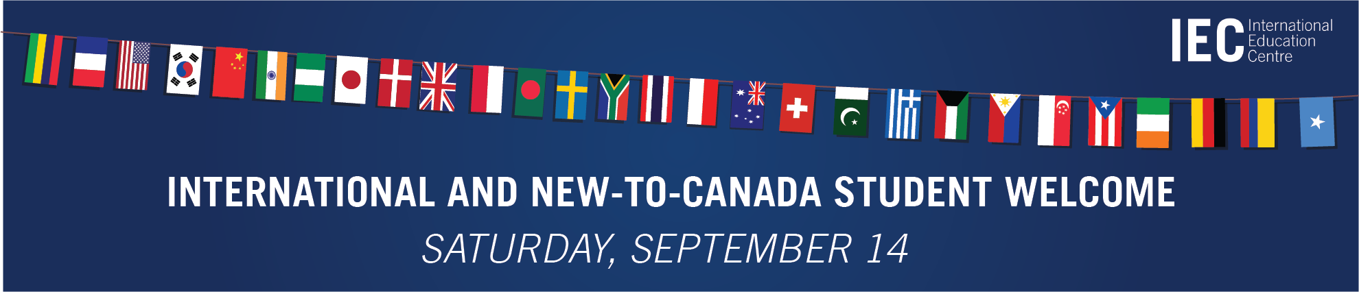 International and New-to-Canada Student Welcome