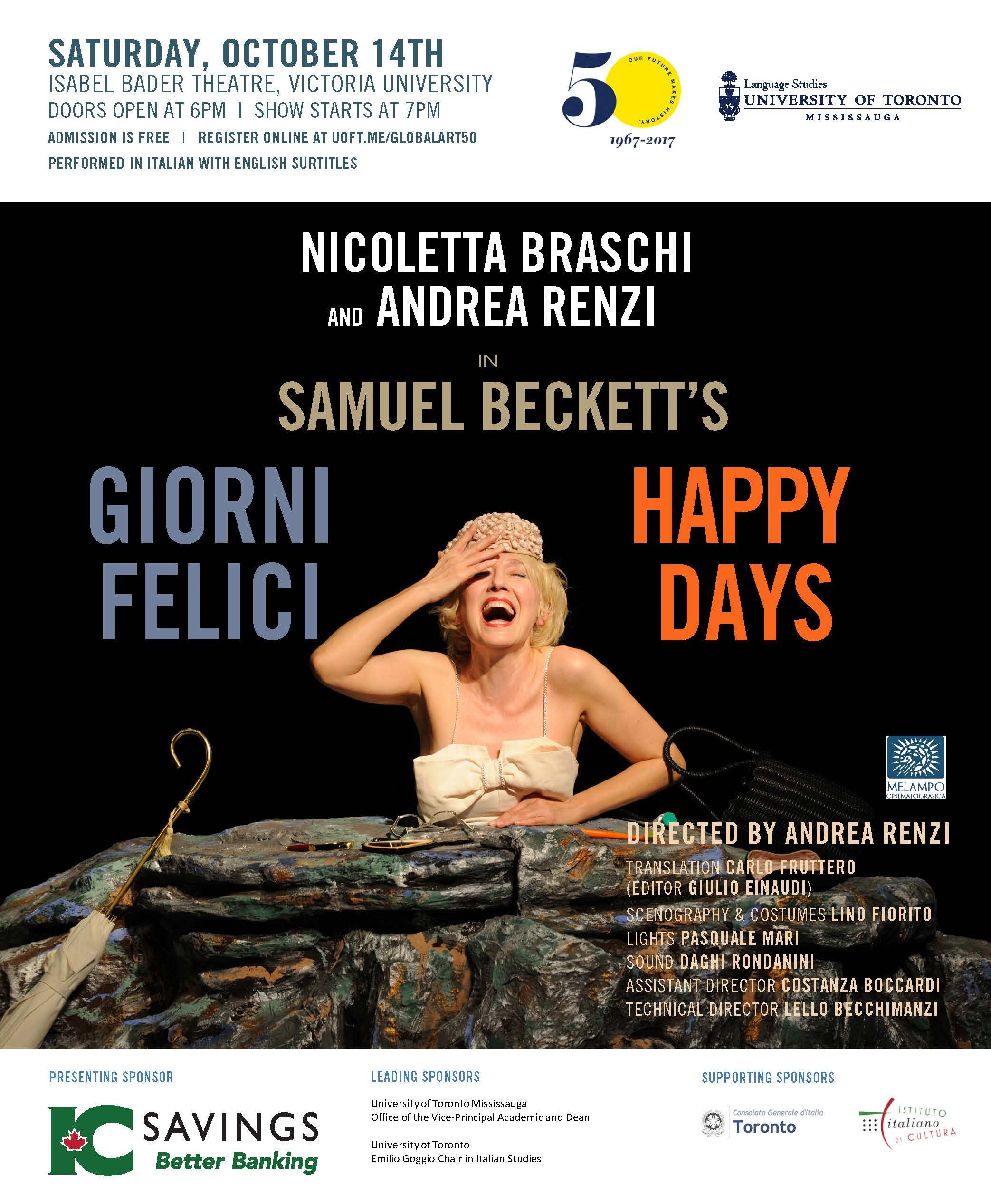Happy Days/Giorni felici poster