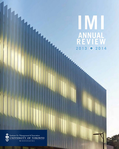 IMI Annual Review 2013-2014