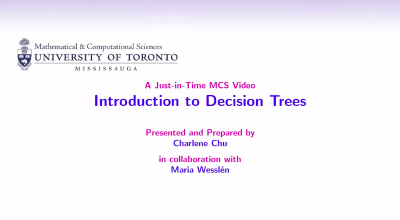 Introduction to Decision Trees video