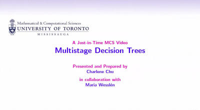 Multistage Decision Tree video