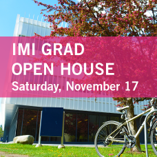 IMI Grad Open House - Saturday, November 17