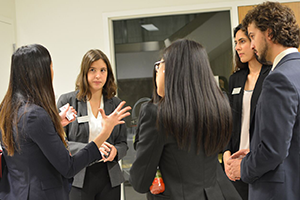 Mock Interviews - Mix and Mingle shot