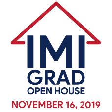 IMI Grad Open House - Saturday, November 16, 2019