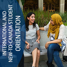 International & New-To-Canada Student Orientation
