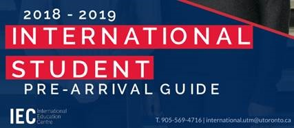 International Student Pre-arrival Guide.