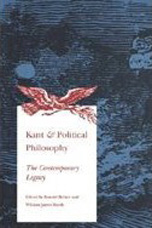 Kant & Political Philosophy - Ronal Beiner