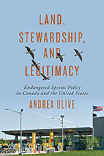 Image of book cover for Land Stewardship and Legitimacy by Andrea Olive