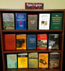 Image of Books written by faculty
