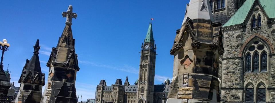 Image of Ottawa parliament buildings