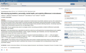 Screenshot of CPS paper publication
