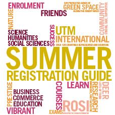 Summer Registration Guide