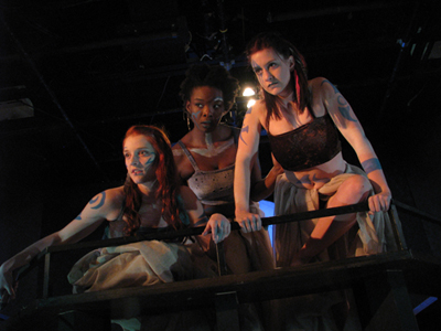 Image of Theatre Erindale production of Macbeth