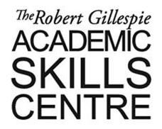 Robert Gillespie Academic Skills Centre