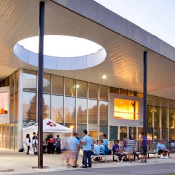 back to school image of Student Centre