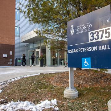 Oscar Peterson Hall residence