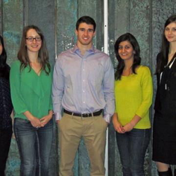 MBiotech students at the VCIC contest