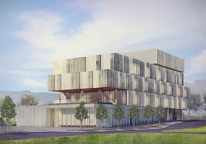 Rendering of Health Sciences complex