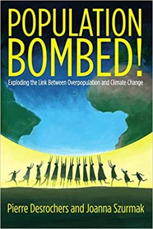 "Cover of book ""Population Bombed!"""