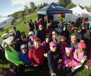 Team UTM at Run for the Cure