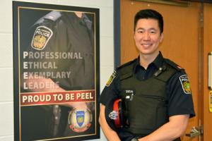 Ryan Wong at Peel Police
