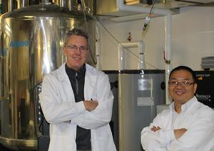 Professor Scott Prosser and post-doc Libin Ye